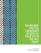 Building More Effective Partnerships between Public Sector and Faith Groups