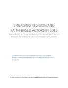 UN Inter-Agency Task Force- Engaging Religion and Faith-Based Actors in 2016