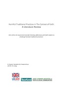 Harmful Traditional Practices in The Context of Faith: A Literature Review