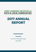 Joint Learning Initiative on Faith & Local Communities (JLI) Annual Report 2017