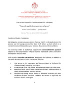 Order of Malta UNHCR remarks for formal consultation 1 – agenda item 2
