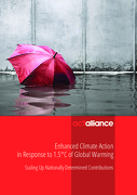 Enhanced Climate Action in Response to 1.5°C of Global Warming, Scaling Up Nationally Determined Contributions