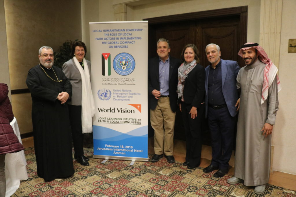 Co-hosts and Speakers at the LHL Amman Seminar