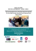 Religion, Development and GBV