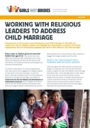 Working with Religious Leaders to Address Child Marriage