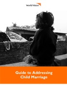 Guide to Addressing Child Marriage