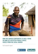 How the Church Contributes to Well-Being in Conflict Affected Fragile States: Voices from the Local Church