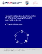 Mobilizing Religious Communities to Respond to Gender-based Violence and HIV: A Training Manual