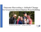 JLI MEAL Hub: Outcome Harvesting & Attitude Change for Grassroots Interreligious Peace building