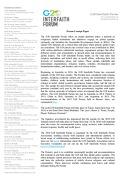 G20 Interfaith Forum Concept Paper