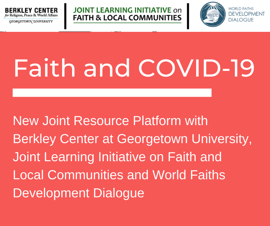 New Faith and COVID-19 Resource Platform