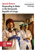 Responding to Ebola in the Democratic Republic of Congo