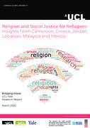 Religion and Social Justice for Refugees: Insights from Cameroon, Greece, Jordan, Lebanon, Malaysia and Mexico