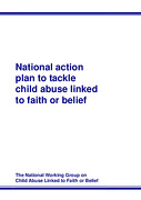 National Action Plan to Tackle Child Abuse Linked to Faith or Belief
