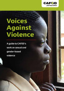 Voices Against Violence: A guide to CAFOD's work on sexual and gender-based violence