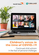 Children's Voices in the time of COVID-19: Continued child activism in the face of personal challenges