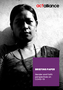 BRIEFING PAPER: Gender and Faith perspectives on COVID-19