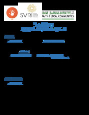 Call for applications to the SVRI/JLI Faith and GBV Hub Leadership Council